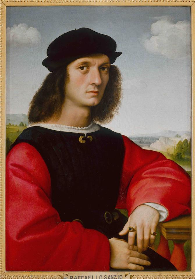 Agnolo Doni, 1506 circa, Firenze, Gallerie degli Uffizi