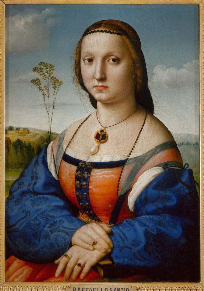 Maddalena Strozzi, 1506 circa, Firenze, Gallerie degli Uffizi