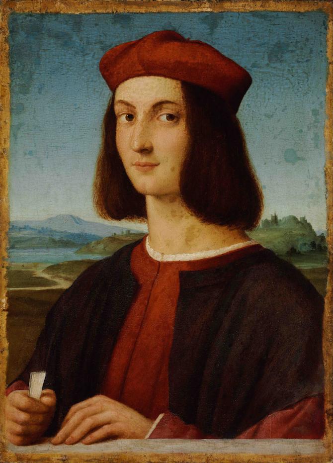 Giovane uomo, 1503-1504, Budapest, Szépmu˝vészeti Múzeum