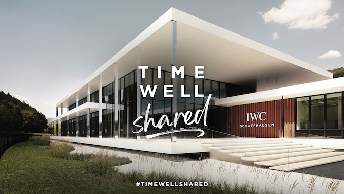 IWC progetto Time Well Shared