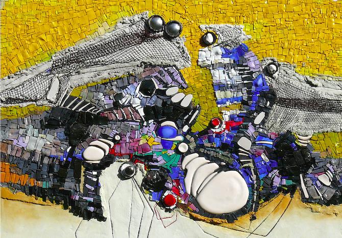 Mosaico di Luciano Petris