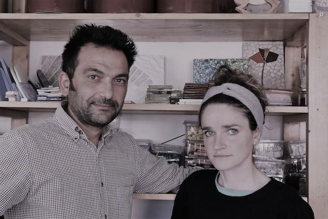 Anna Carraro e Mohamed Chabarik