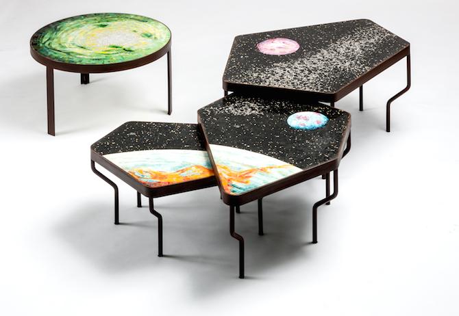 Felix Muhrhofer e mosaico di Fabrizio Travisanutto