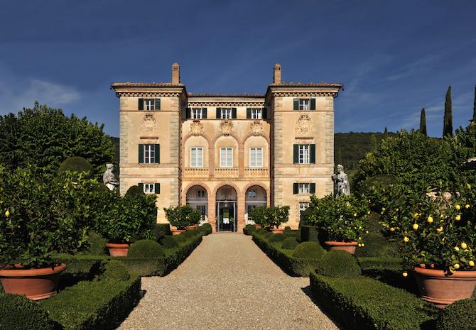 Villa Cetinale in Toscana