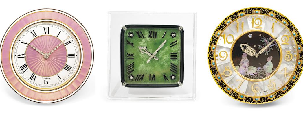 orologi da tavolo Cartier, asta Christie's