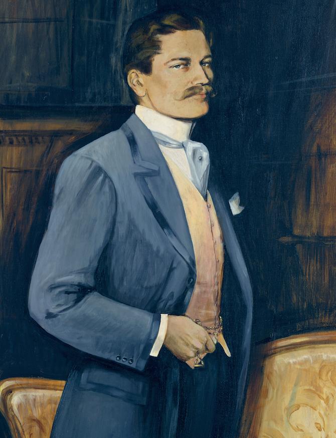 Louis Cartier ritratto da Émile Friant nel 1904. Credits: Archives Cartier © Cartier