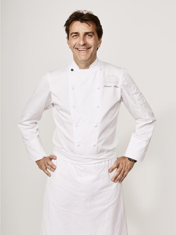 Ritratto dello chef Yannick Alléno – Photo Credit: Roberto Frankenberg