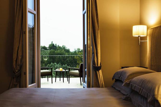 Suite con terrazzo del Reva Monforte