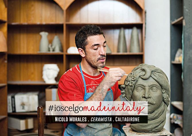 Nicolò Morales #ioscelgomadeinitaly