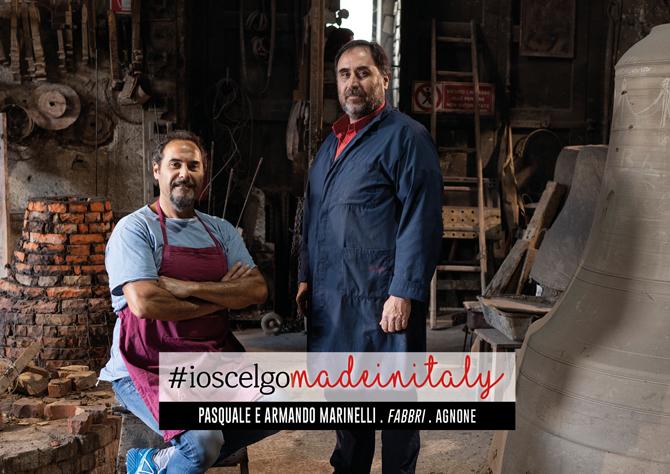 Pasquale e Armando Marinelli #ioscelgomadeinitaly