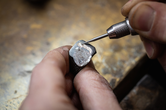 Anelli chevalier Unique Piece Pisa Diamanti Fabio Lissi