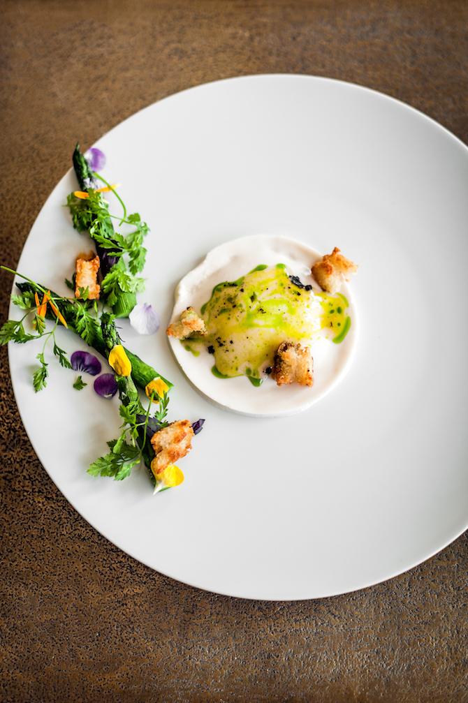 Ristorante FRE: uovo marinato by Yannick Alléno - Photo Credit: Valeria Necchio