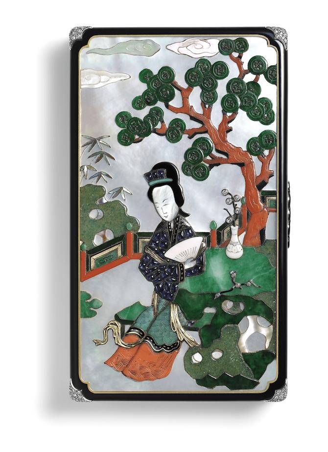 vanity case firmato Cartier Paris, 1928