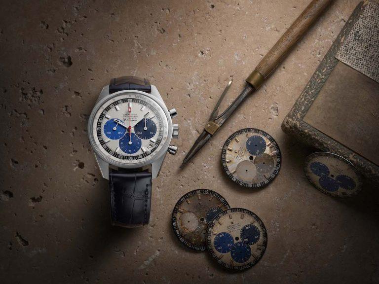 Tre toni di blu per lo Zenith Chronomaster Revival Manufacture Edition