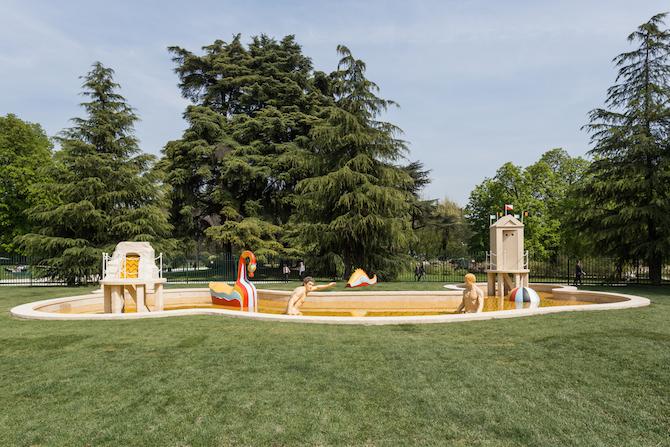 Giorgio de Chirico, Bagni misteriosi, Photo Credit: Giancluca di Ioia