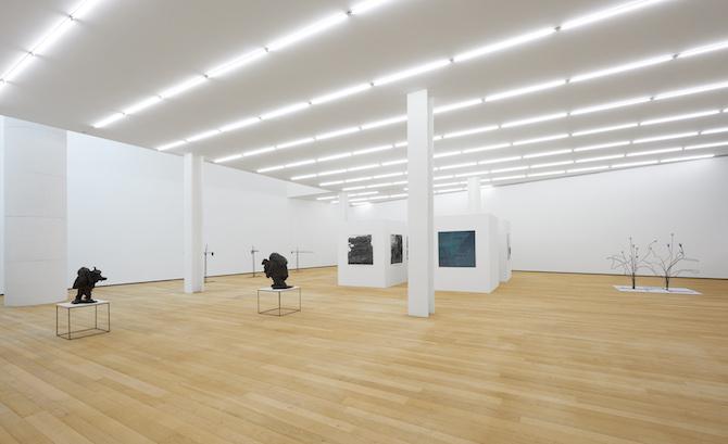PETER WÄCHTLER. UP THE HEAVIES. Installation view at Fondazione Antonio Dalle Nogare. Photo Jürgen Eheim Courtesy Fondazione Antonio Dalle Nogare
