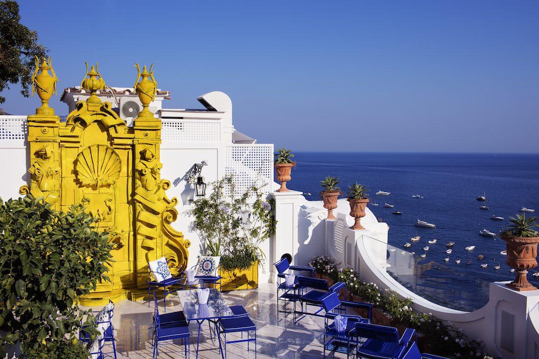 Le Sirenuse Positano,hotel di lusso partenopeo