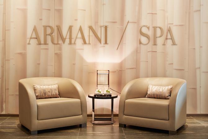 Spa dell'Armani Hotel