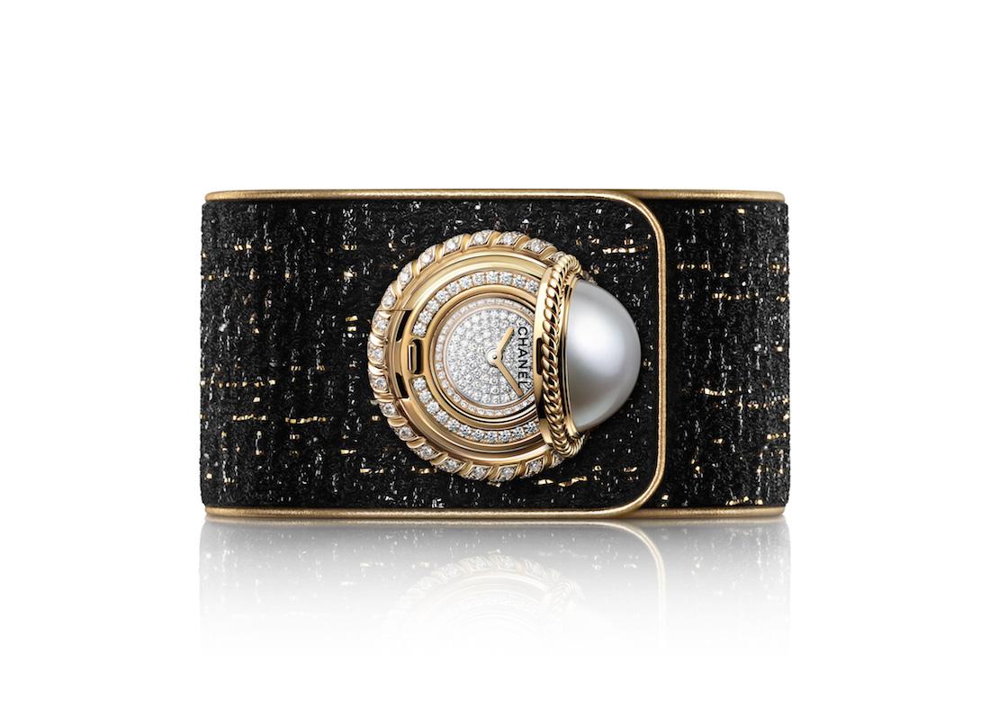 I nuovi orologi Chanel Mademoiselle Privé Bouton