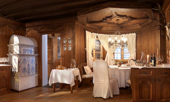 Ristorante gourmet Anna Stuben – Photo Credit: Fiorenzo Calosso