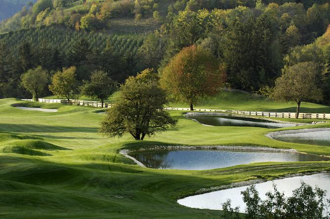 Campo da Golf dell'Hotel Gardena a Ortisei