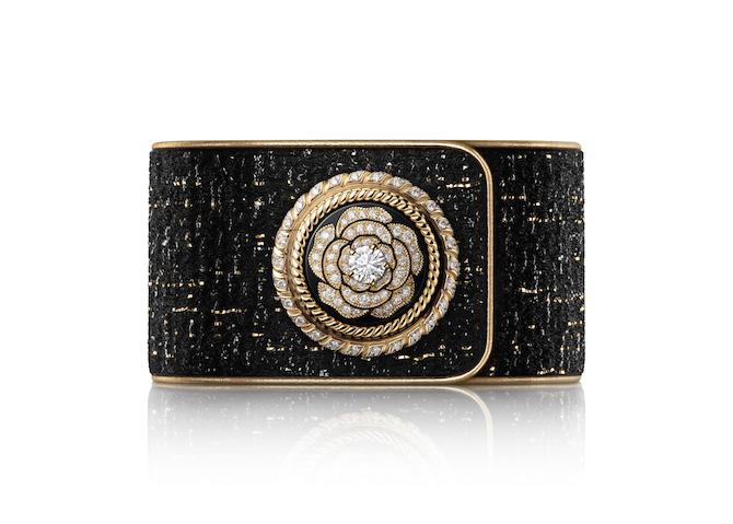 Chanel Mademoiselle Privé Bouton, orologio Camélia