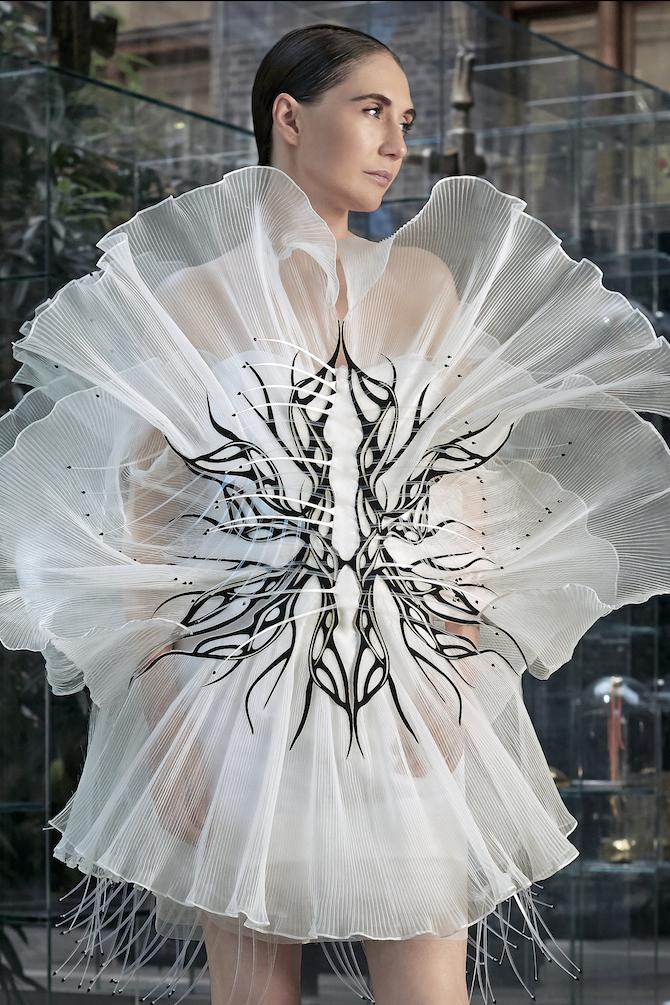 Iris Van Herpen Haute Couture A/I 2020/2021_ Courtesy Iris Van Herpen Press Office