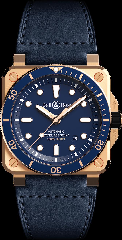 Bell & Ross BR 03-92 Diver Blue Bronze – Ref. BR0392-D-LU-BR/SCA