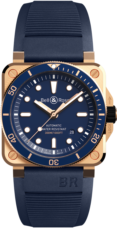 Il BR 03-92 Diver Blue Bronze