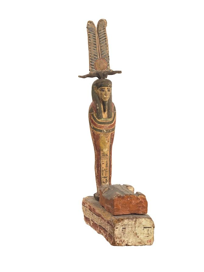 Statua di Ptah-Sokar- Osiride, epoca Tarda_ Viaggio oltre le tenebre.Tutankhamon Real Experience®