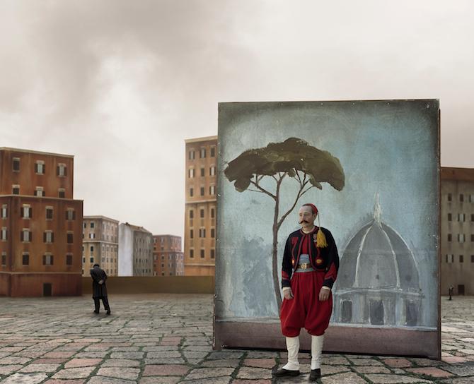 Lo zuavo scomparso #04 2012 © Paolo Ventura