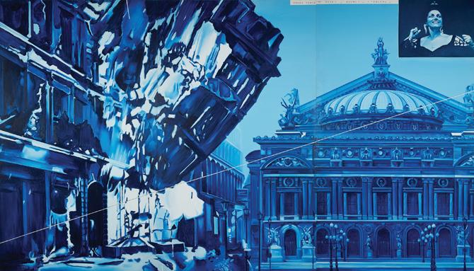 La Fondazione Maeght omaggia l'artista Jacques Monory
