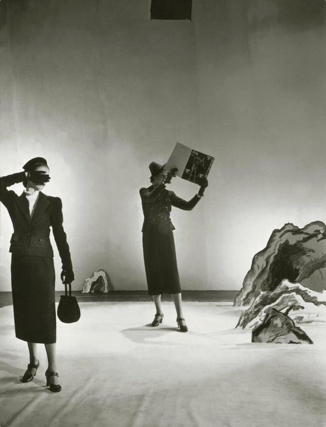 Salvador Dali by Cecil Beaton Vogue 1936 © Condenast Publications inc