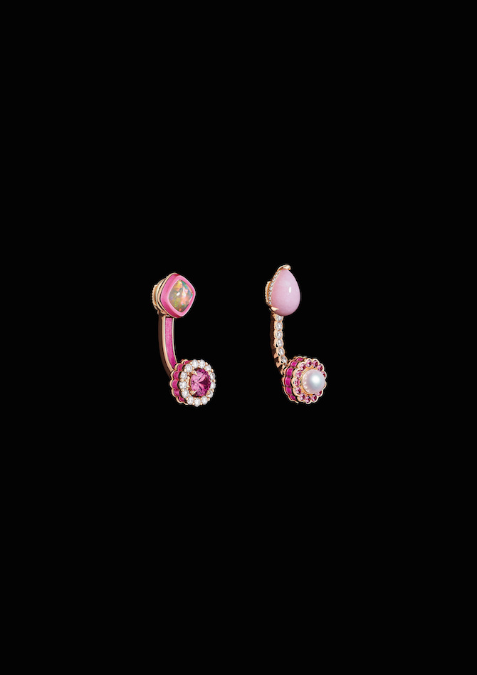 Dior gioielli, collezione Dior et Moi, orecchini Tribales