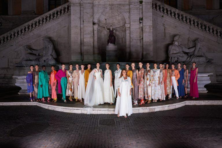 Un nuovo Rinascimento Romano per Laura Biagiotti