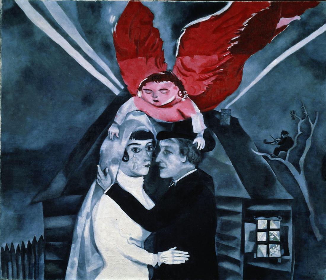 """Marc Chagall """"anche la mia Russia mi amerà"""" in mostra a Rovigo"""