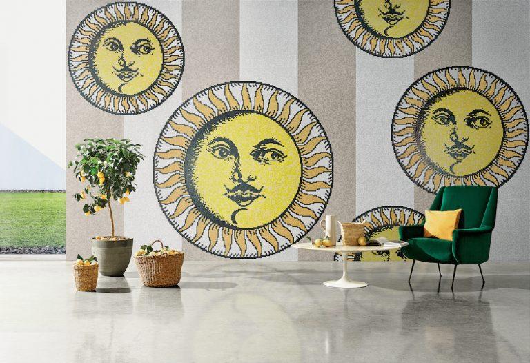 Bisazza e Fornasetti: una nuova collezione in mosaico