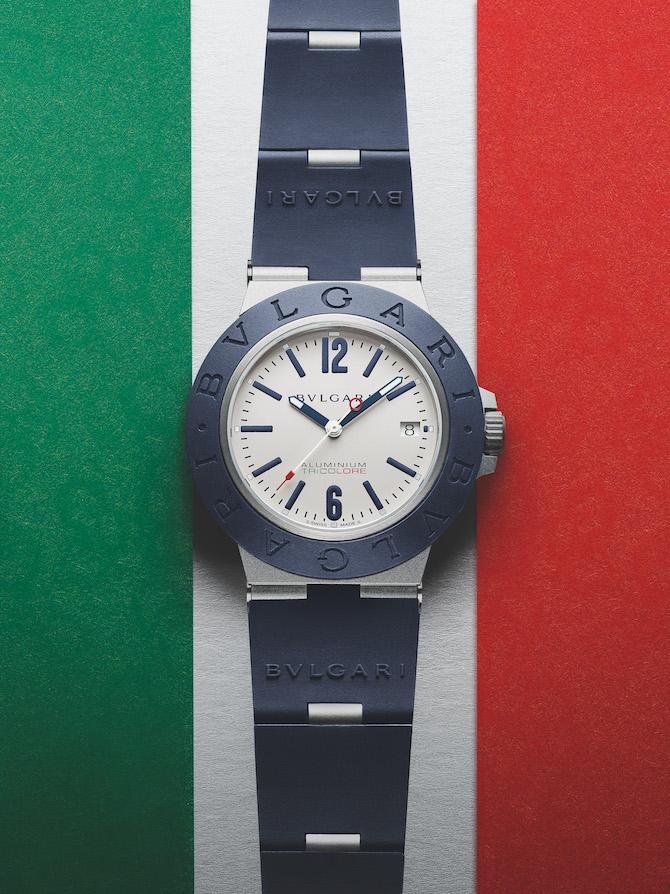Bulgari Aluminium Tricolore