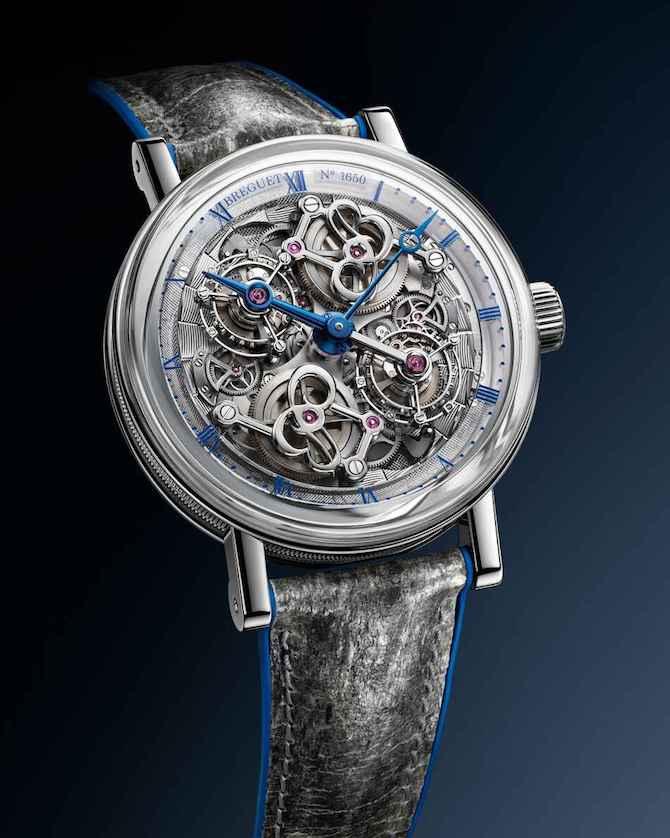 Breguet Classique Double Tourbillon 5345 Quai de l'Horloge - Ref. 5345PT/1S/7XU