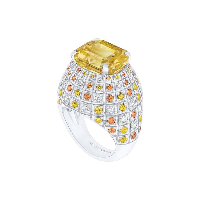 Louis Vuitton, Stellar Times, anello Soleils