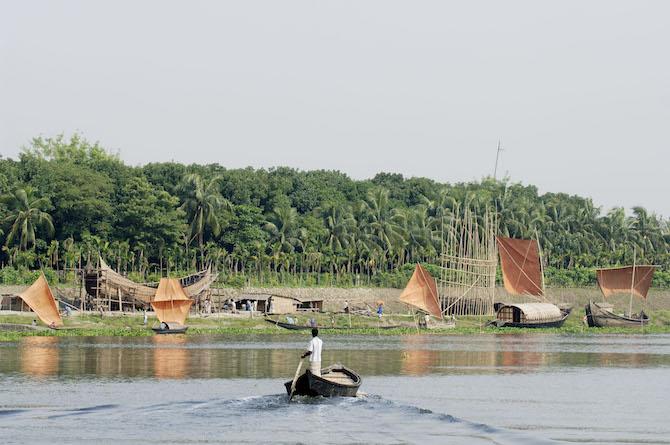 Runa Khan, vincitore Rolex Award 2006, sta costruendo un museo del patrimonio di costruzioni navali del Bangladesh - © Rolex/Heine Pedersen