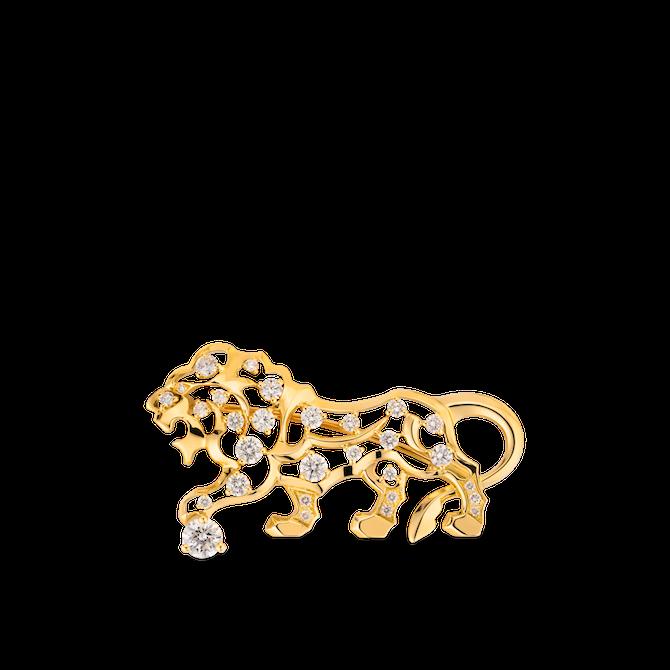 CHANEL Joaillerie, spilla SOUS LE SIGNE DU LION