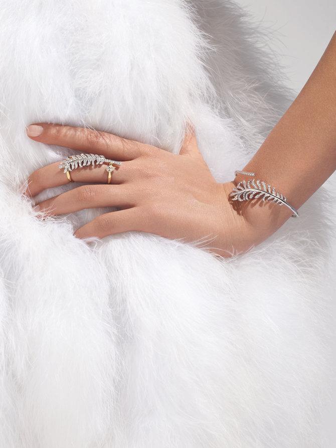 CHANEL Joaillerie, anello PLUME DE CHANEL