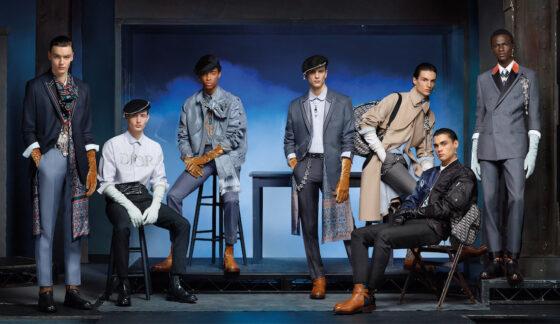 outfit uomo, completo maschile abiti Dior