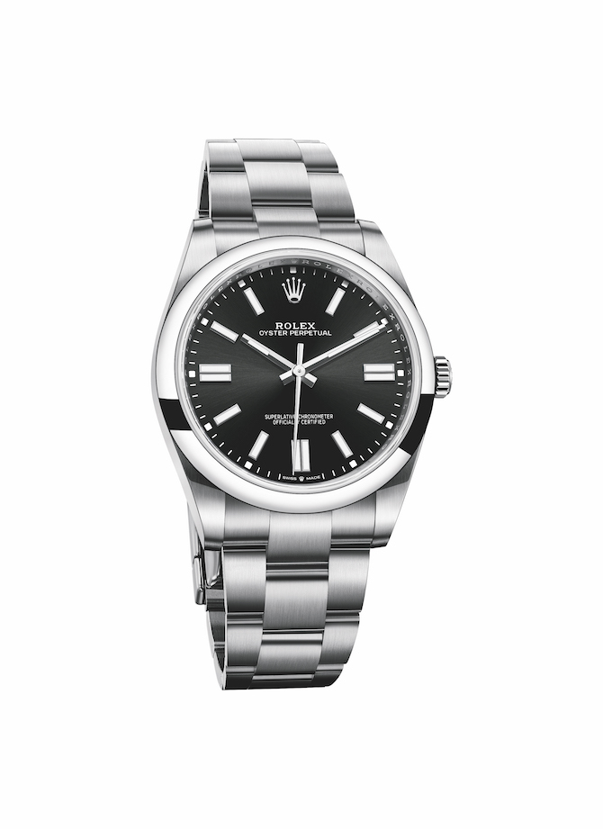 Oyster Perpetual 41 nero soleil