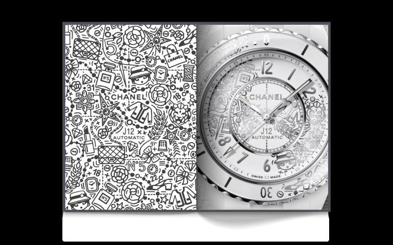 Instant Éternel, i 20 anni dell'orologio Chanel J12 in monografia