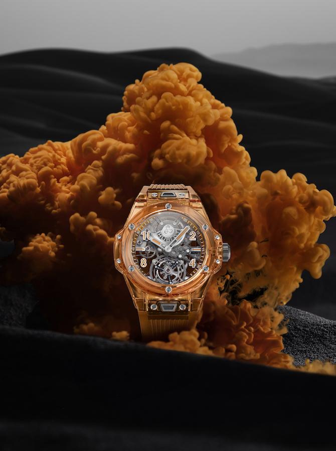 Hublot Big Bang Tourbillon Automatic Orange Sapphire – Ref. 419.JO.0120.RT