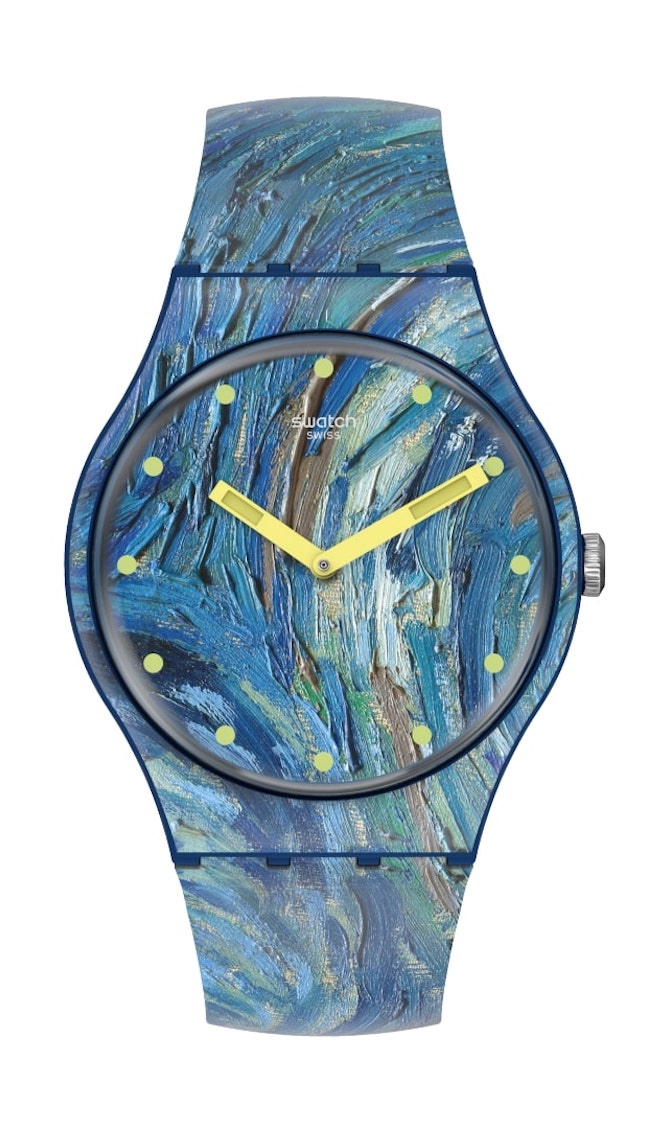 Swatch X Moma The Starry Night
