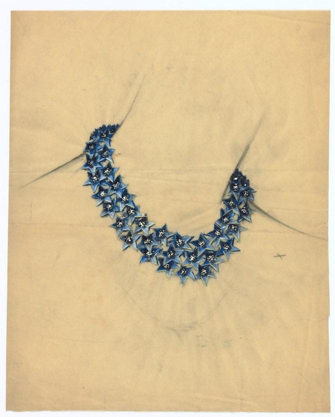 collana Stella, circa 1938 Van Cleef & Arpels Archives© Van Cleef & Arpels SA