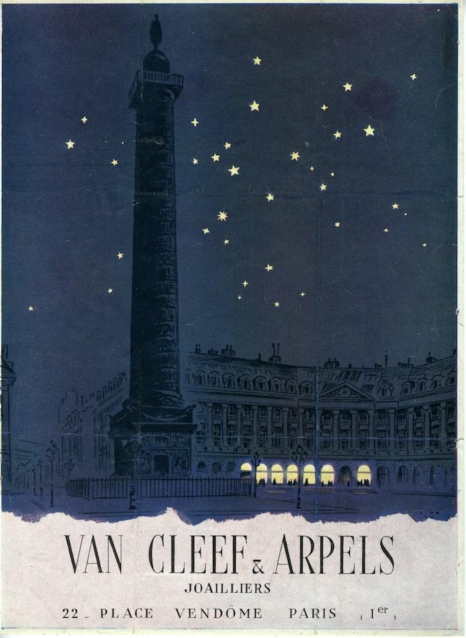 Van Cleef & Arpels, 1944. Van Cleef & Arpels Archives © Van Cleef & Arpels SA